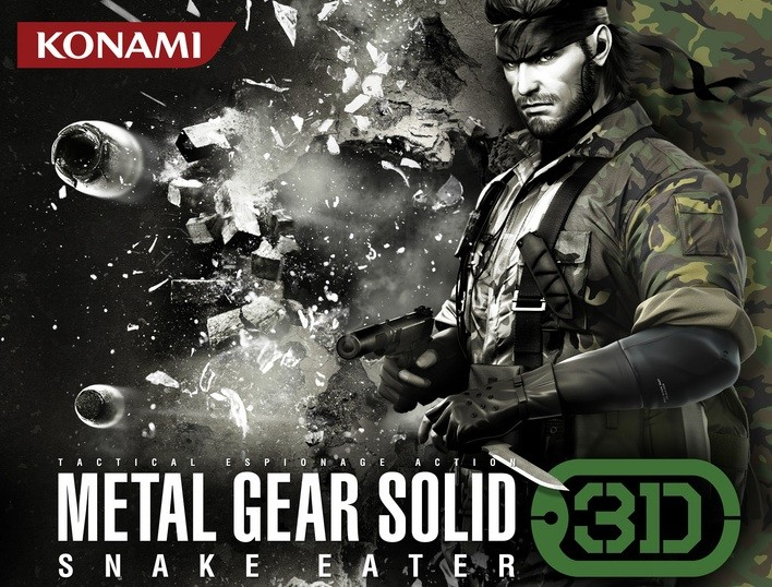 Metal Gear Solid Snake Eater 3DS daté