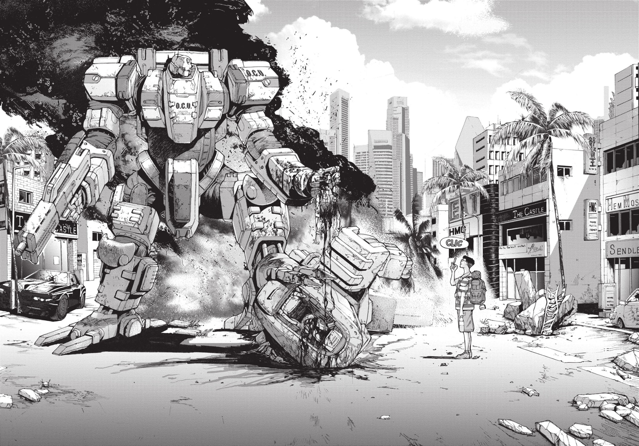 """Résultat de recherche d'images pour """"front mission art manga"""""""