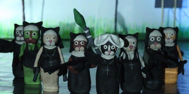 Un trailer d'Hitman 5 recréé avec des chats en pâte à modeler