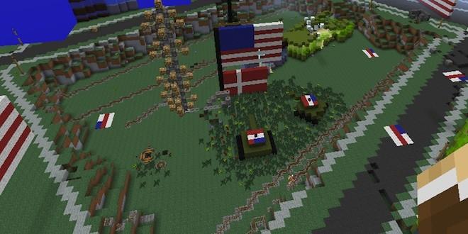 Minecraft : le Danemark recréé puis détruit