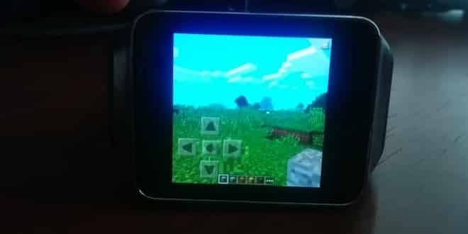 Insolite : Minecraft fonctionne sur les montres connectées (vidéo)