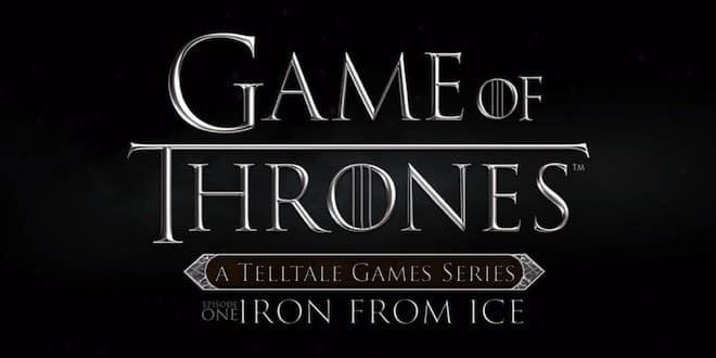 Game Of Thrones par Telltale : Première bande-annonce