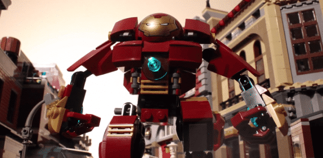 Le trailer d'Avengers Age of Ultron en Lego