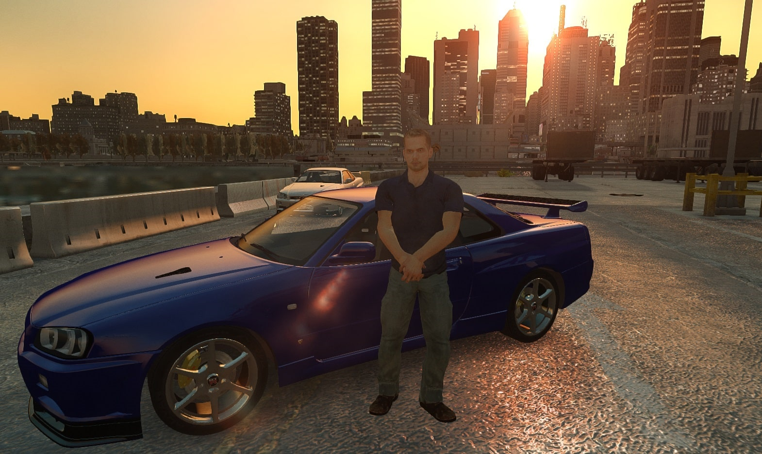 Des fans rendent hommage à Paul Walker avec GTA 5