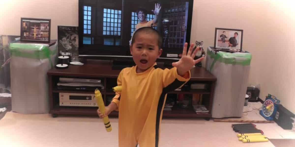 A 5 ans, ce mini Bruce Lee va vous étonner