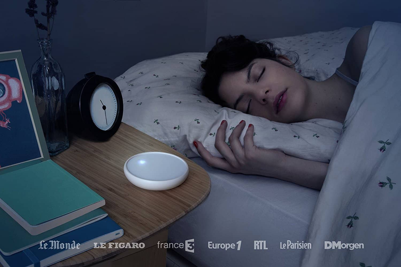 Dodow, un objet high tech pour un meilleur sommeil Made in France
