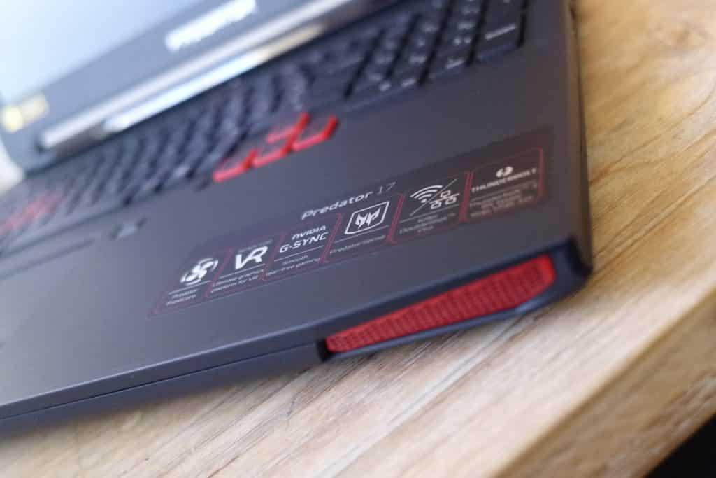Test du Acer Predator 17, un ordinateur portable pour Gamers