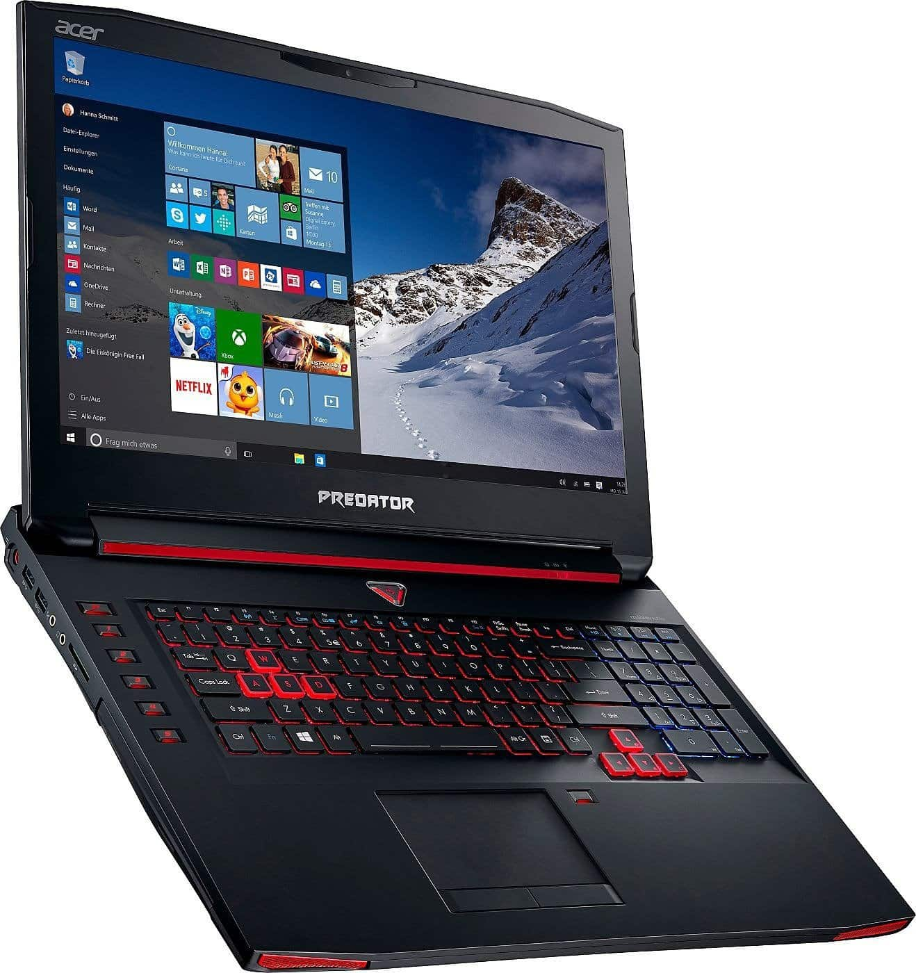 test du acer predator 17 un ordinateur portable pour gamers high tech. Black Bedroom Furniture Sets. Home Design Ideas