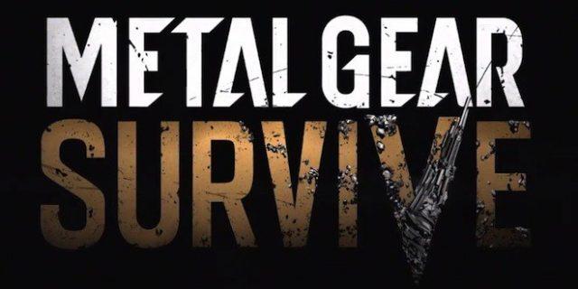 Metal Gear Survive arrivera plus tard