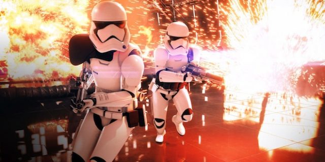 Un trailer de gameplay pour Star Wars Battlefront II