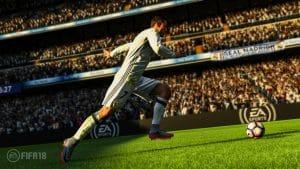 Cristiano Ronaldo a participé à la Motion Capture de FIFA 18