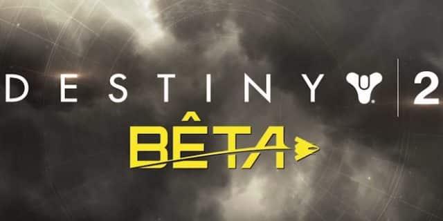 Destiny 2 rappelle les dates de sa beta ouverte