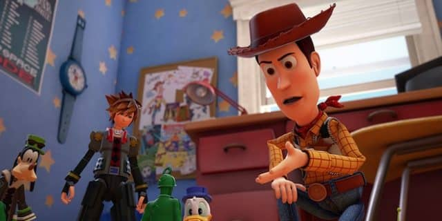 Toy Story s'invite dans Kingdom Hearts III. Ou l'inverse.