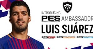 Luis Suarez, le nouvel ambassadeur de PES