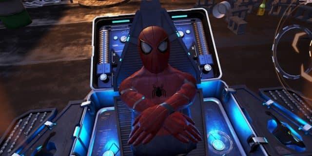 Spider Man en Réalité Virtuelle