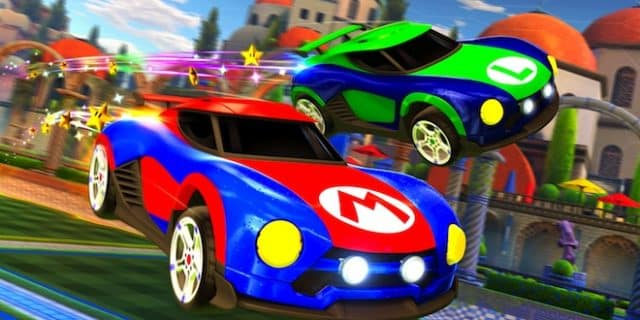Du Mario dans Rocket League