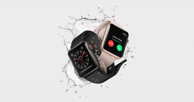 Test : Apple Watch Series 3 GPS + Cellular