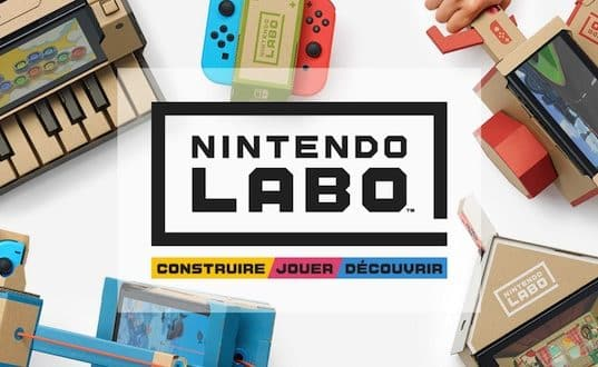 Le Nintendo Lab, le futur carton de la Switch?