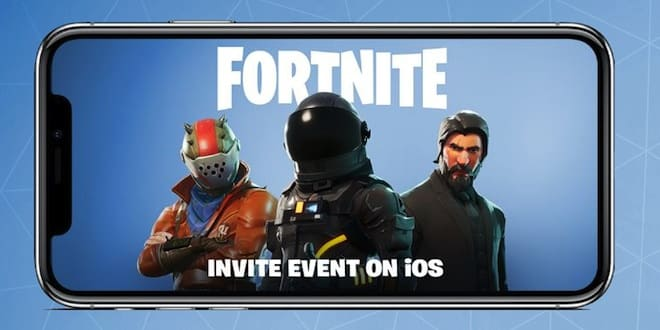Fornite Mobile arrive sur iOS et Android
