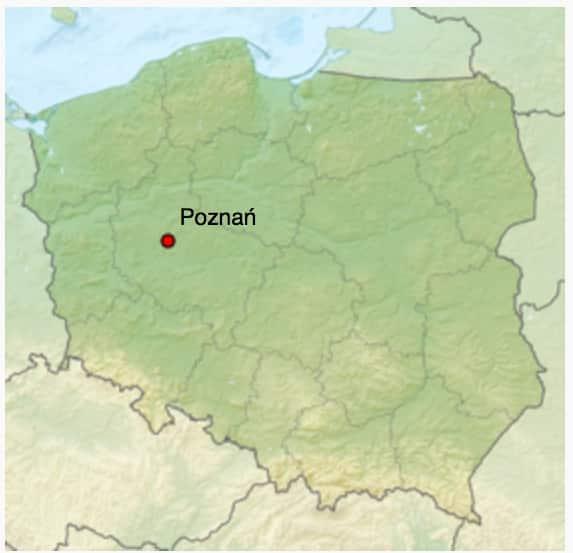 La map de Fortnite est-elle celle de la Pologne? Quid de la météorite?