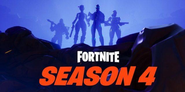 Toutes les infos sur la Saison 4 de Fortnite