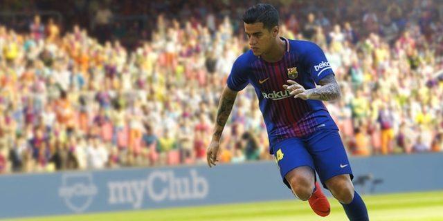 PES 2019 aura Coutinho en joueur vedette
