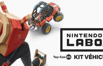 Le Toy-Con 3 du Nintendo Labo est dédié aux véhicules