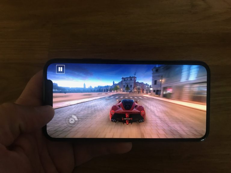 Test de l'iPhone XS