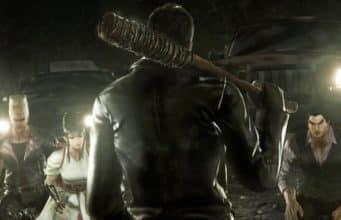 Vidéo de gameplay de Negan dans The Walking Dead
