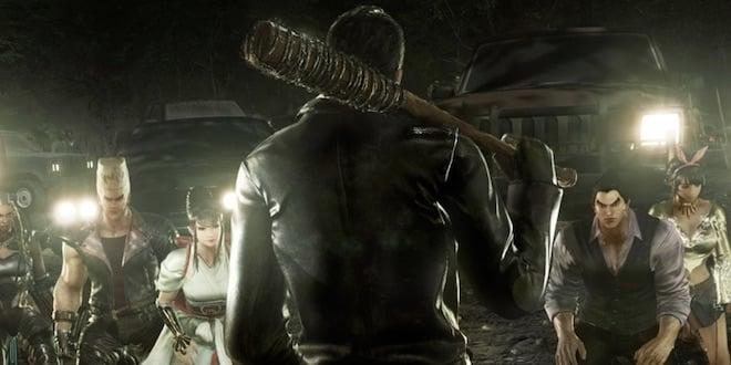 Tekken 7: du gameplay pour Negan (The Walking Dead)