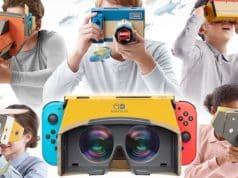 De la réalité virtuelle sur Switch grâce au Nintendo Labo VR.