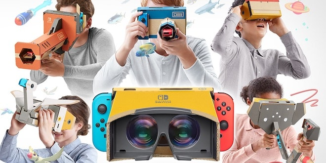 Switch: de la VR via le Nintendo Labo