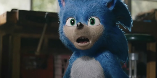 Film Sonic: Première bande-annonce avec Jim Carrey