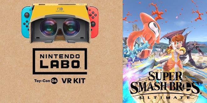 Smash Bros Ultimate s'offre un mode VR sur Switch (vidéo)