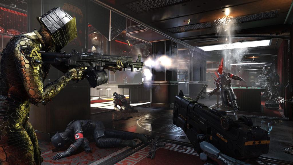Les missions principales de Wolfenstein Youngblood se déroulent en intérieur.