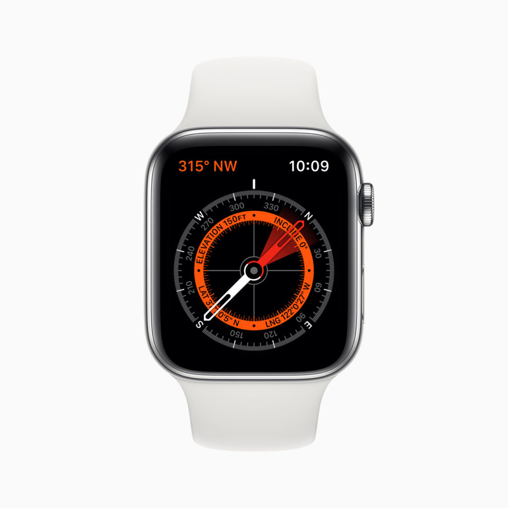 Apple Watch Boussole