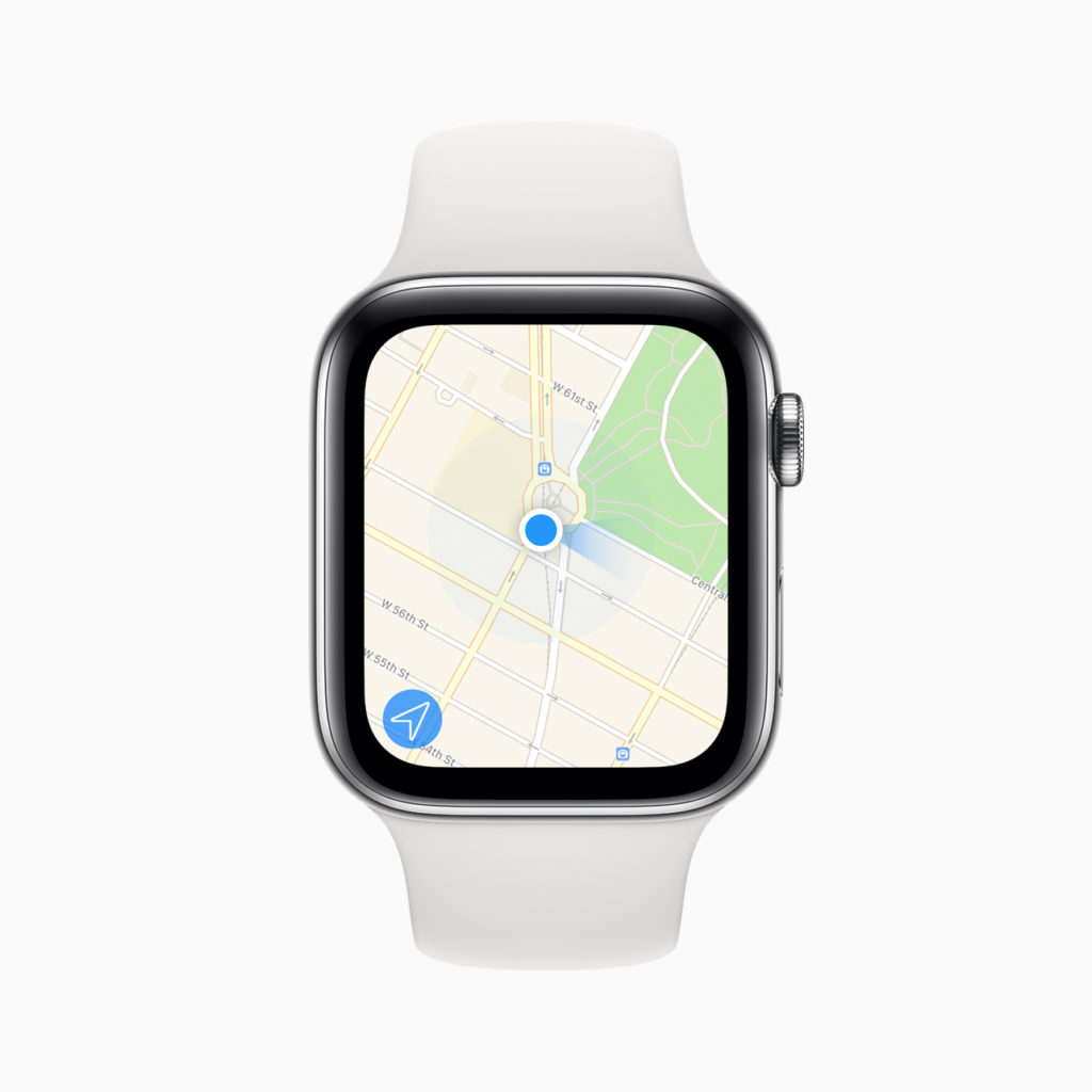 Fonction GPS de Apple Watch